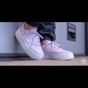 Nike Shoes - Air Force 1 Low Suede - Purple Size 7